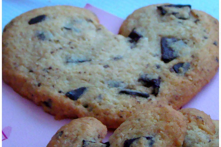 Cookies chocolat et noix de coco