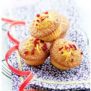 petits cakes citron et cranberry