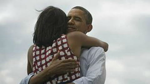 La robe à carreaux de Michelle Obama sur Asos
