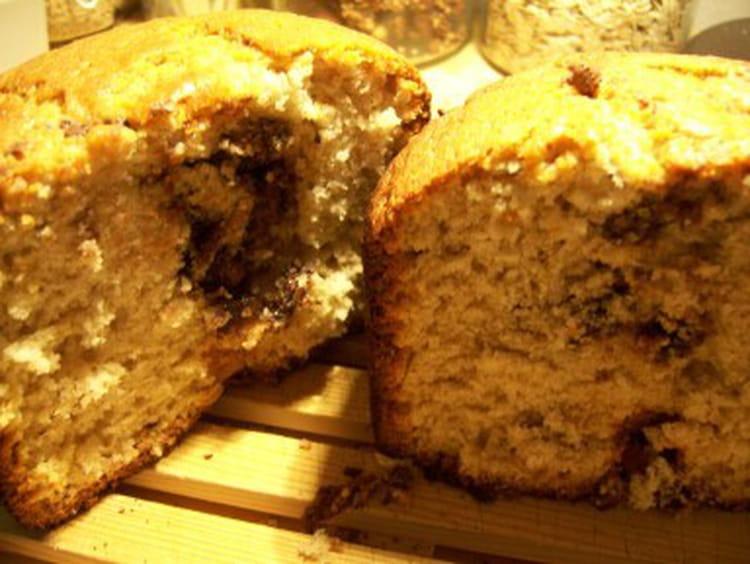 Cake Morceaux Bananes