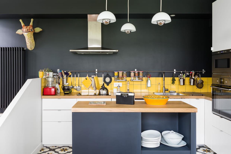 Great Idée Deco Cuisine Jaune