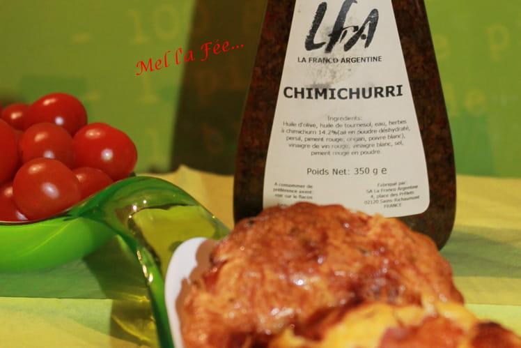 Flan tomates cerises / knacks