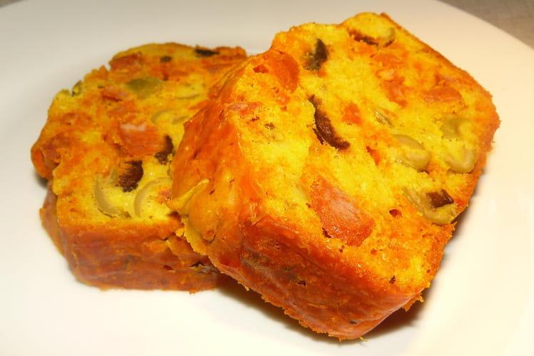 Recette Cake Chorizo Olives