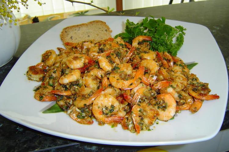 Recette de crevettes l 39 ail la recette facile for Plat simple et convivial