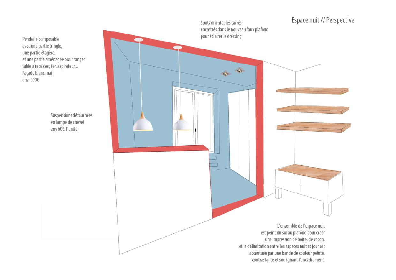 Le projet de sandrine carr la laur ate du concours for Chambre 9 metre carre