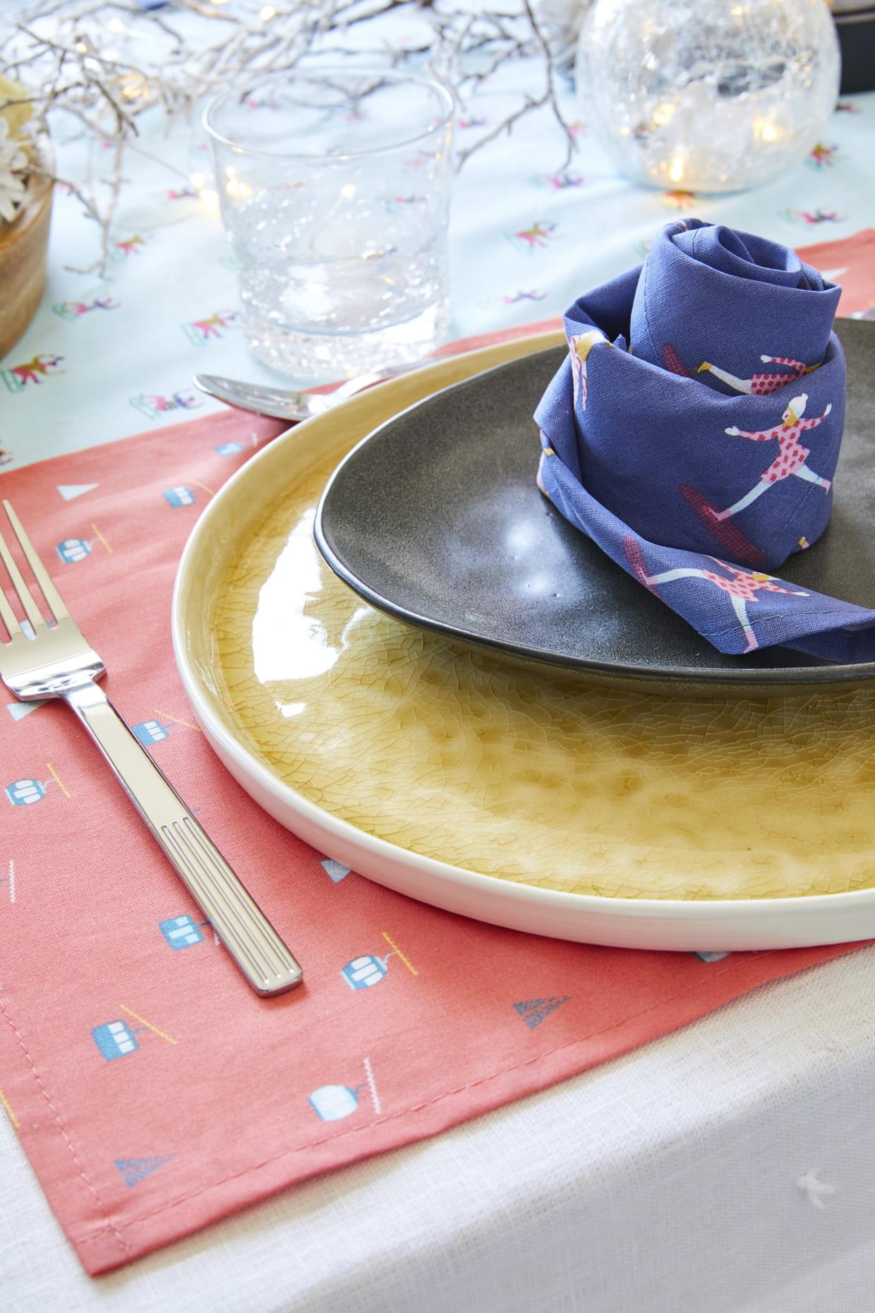 Pliage De Serviette Original plier les serviettes en rose