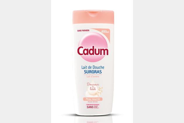 Lait de douche surgras douceur de lait Cadum