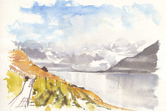 Les vignobles du Lac Léman