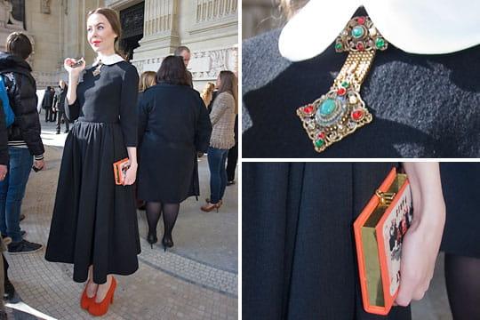 Fashion week : les street looks des défilés parisiens PAP automne-hiver 2011-2012 67