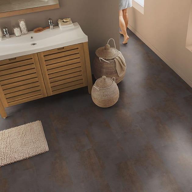 20belles idées pour choisir son sol de salle de bains