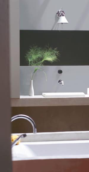 Quelle peinture pour la salle de bains - Peinture pour plafond salle de bain ...