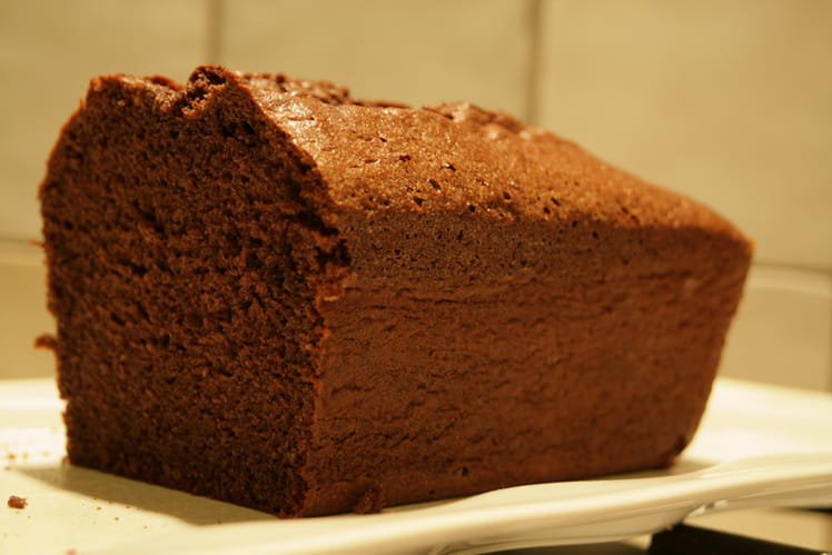 Le cake au chocolat de Valrhona