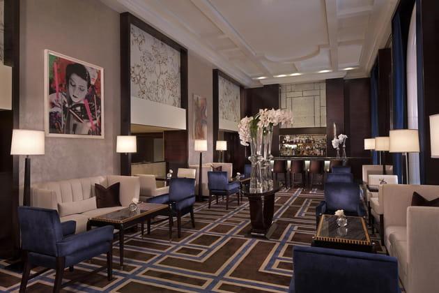"Le salon Gotham ou ""Ghotam Lounge"""