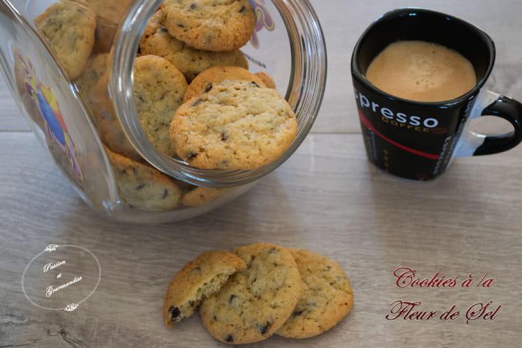 Cookies à la fleur de sel