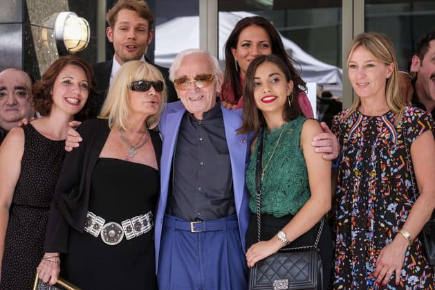 Une star à Hollywood, en 2017, pour recevoir son étoile sur le Walk of Fame