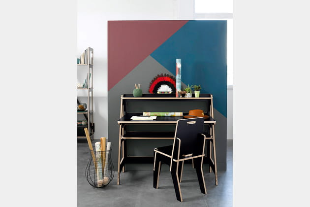 mobilier de bureau slideart d 39 am pm. Black Bedroom Furniture Sets. Home Design Ideas