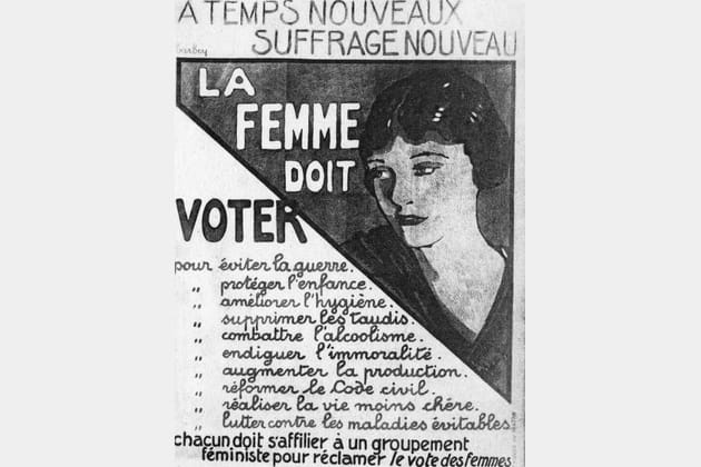 1925 la femme doit voter. Black Bedroom Furniture Sets. Home Design Ideas