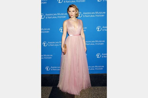 Scarlett Johansson au gala de l'American Museum of Natural History