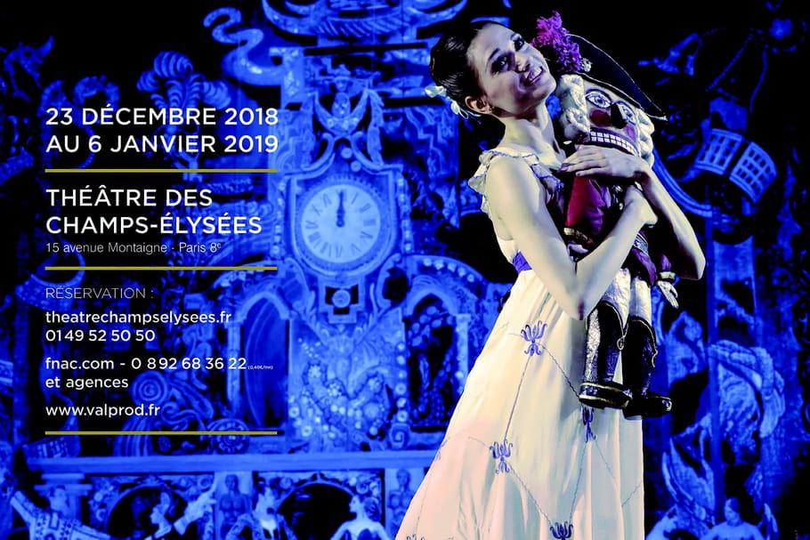 Casse-Noisette au Théâtre des Champs-Élysées: quand Kiev envoûte Paris