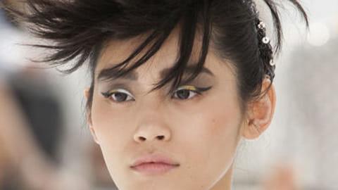 Chanel : maquillage défilé haute couture automne hiver 2014 2015