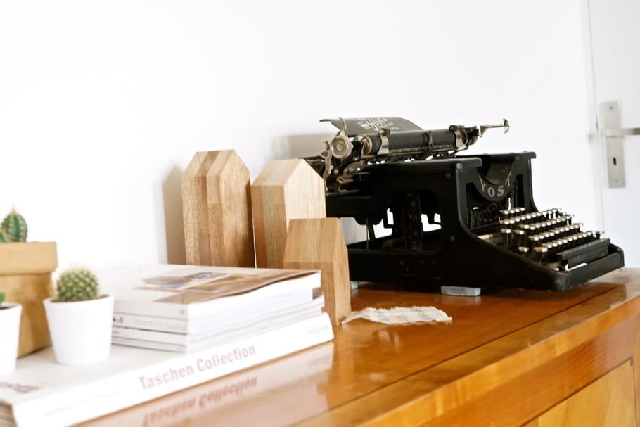 Le truc à chiner: la machine à écrire