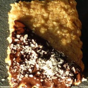 biscuits à la noix de coco et flocons d'avoine