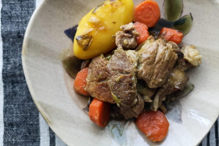 Échine de porc (recette facile)