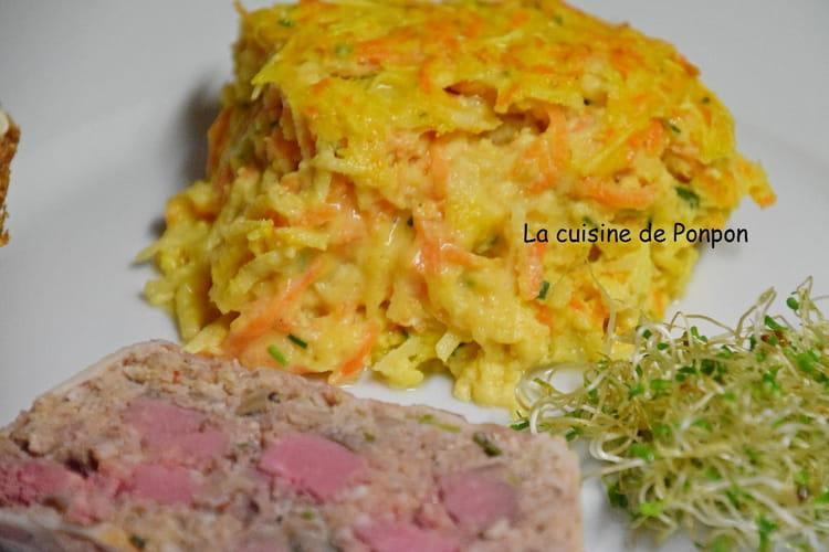 Flan de carottes et panais