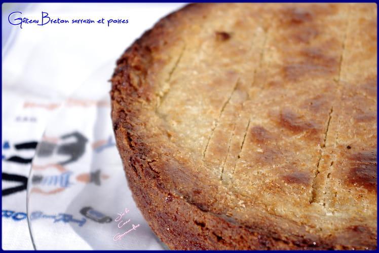 Gâteau Breton sarrasin et poires
