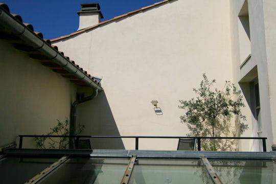 La terrasse des greniers