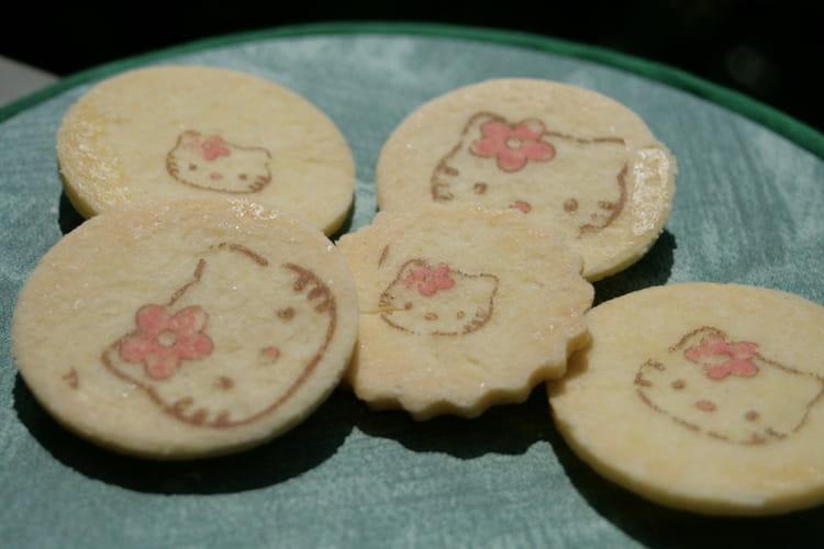 Sablés à la vanille Hello Kitty