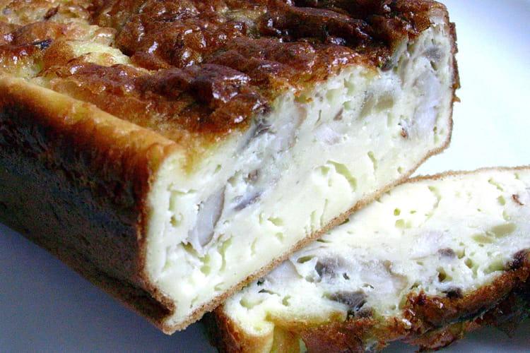 Cake aux filets de maquereaux