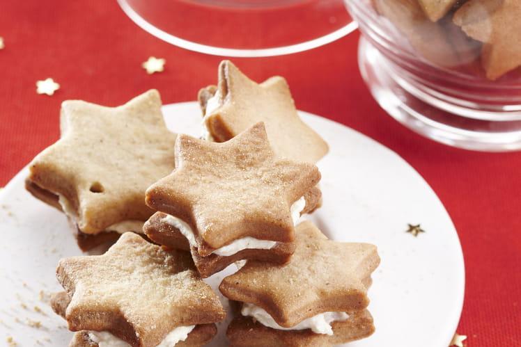 Biscuits étoilesà La Cannelle Et Au Fromage Fouetté Madame Loïk Nature