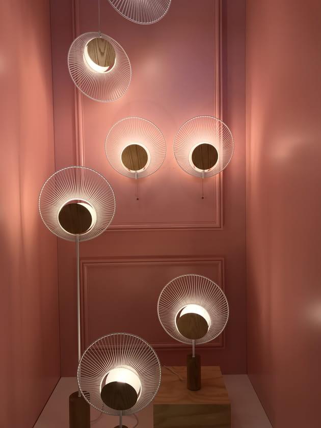 Les lampes Oyster de Jette Scheib pourForestier