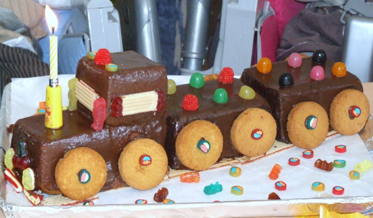 Exceptionnel gateau train ZT11