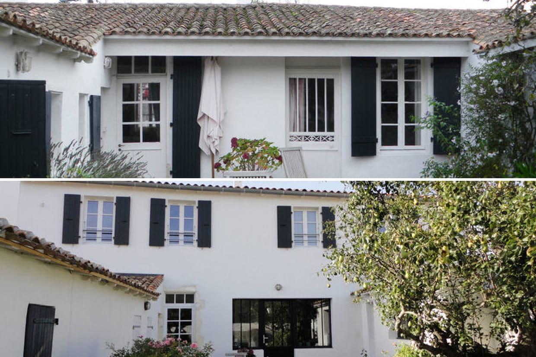 avant-après : une maison rénovée à l'Île de ré