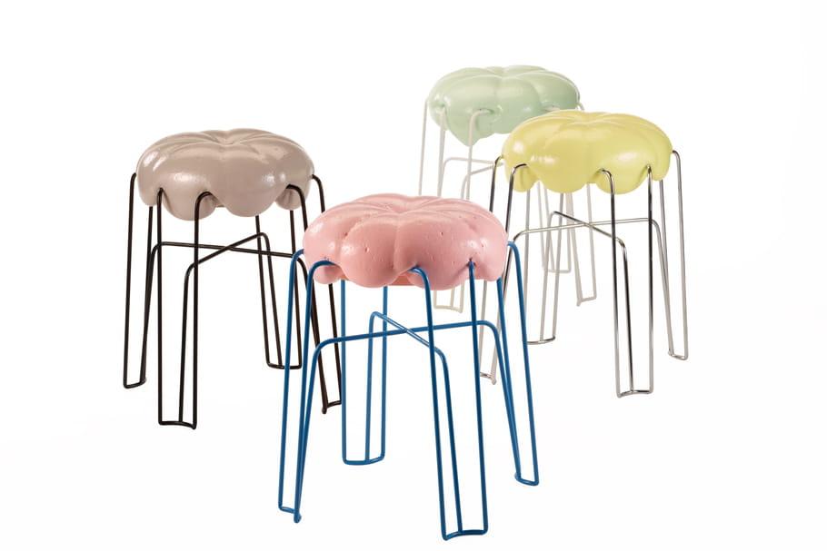 L'objet du désir: le tabouret Marshmallow de Paul Ketz
