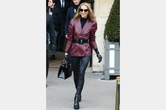 Céline Dion le 24janvier 2019