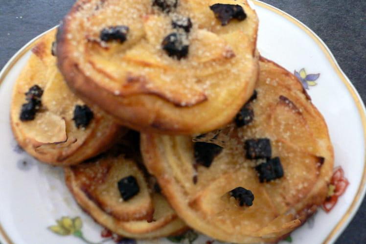 Tartelettes fines aux pommes, aux épices d'antan
