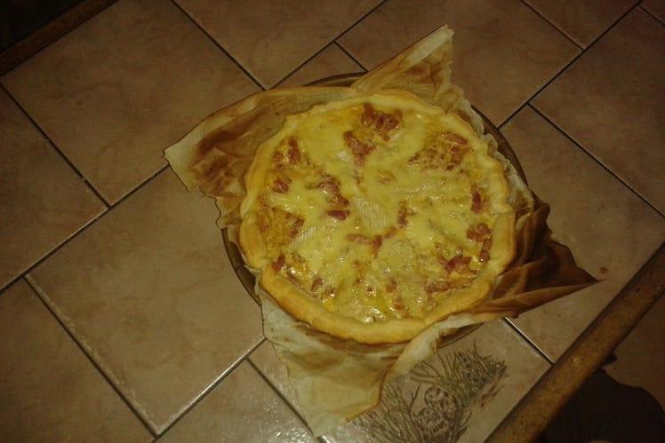 Tartiflette en tarte