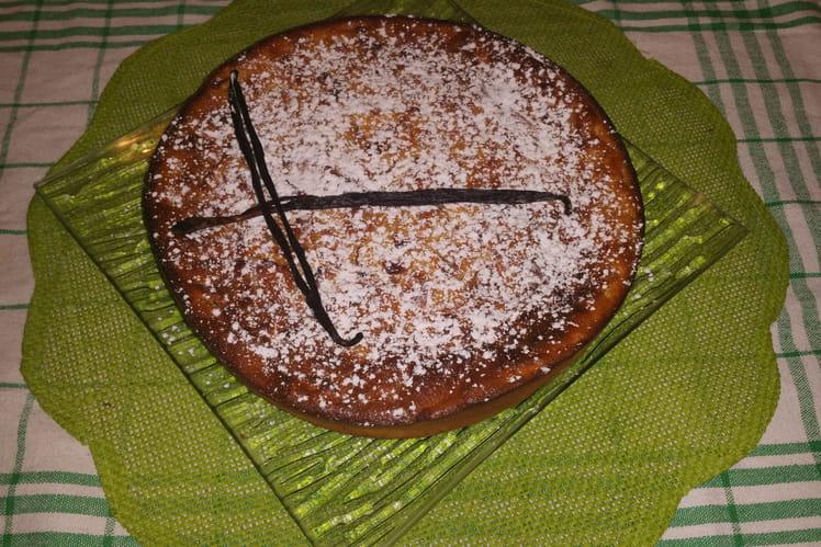 Gâteau aux pommes et vanille de Madagascar