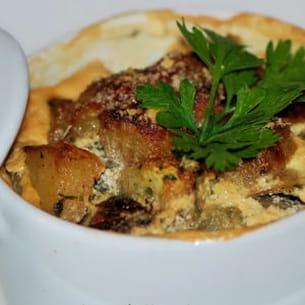 cocotte de cabillaud aux courgettes et curry