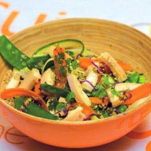 salade de printemps au reblochon
