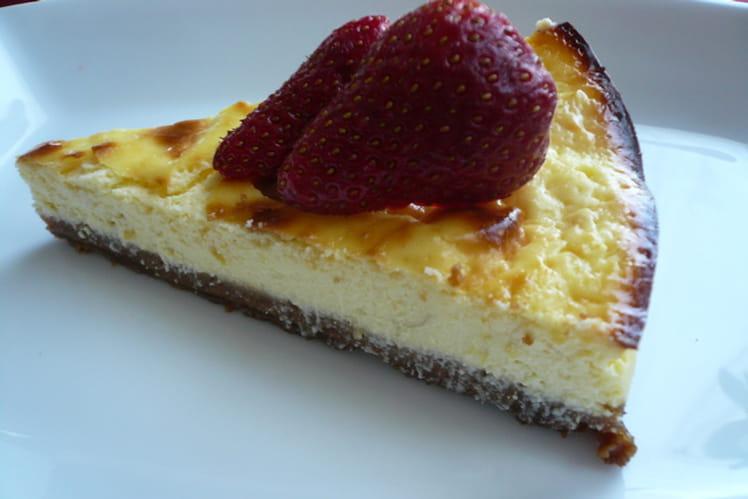 Cheesecake saveur spéculoos