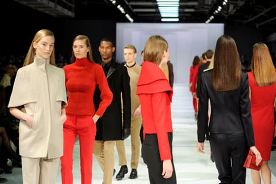 Fashion week Berlin : au coeur du défilé Hugo Boss automne-hiver 2013-2014