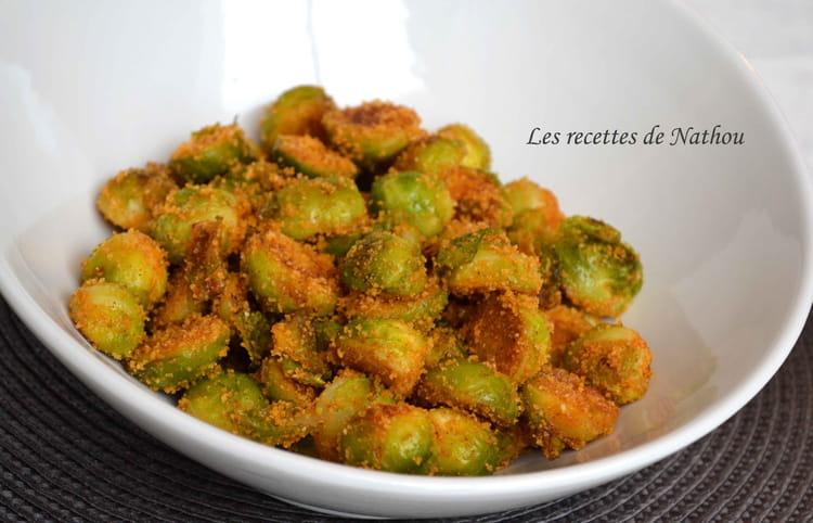 Recette de choux de bruxelles croustillants au paprika - Cuisiner choux de bruxelles ...