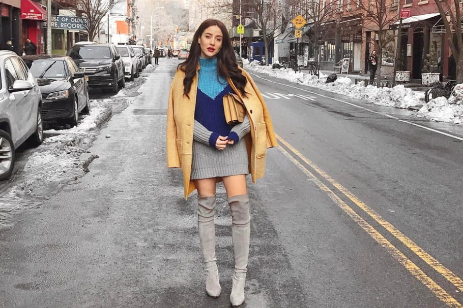 Le look blogueuse de la semaine: Tamara de The Glam and Glitter à la fashion week de New York