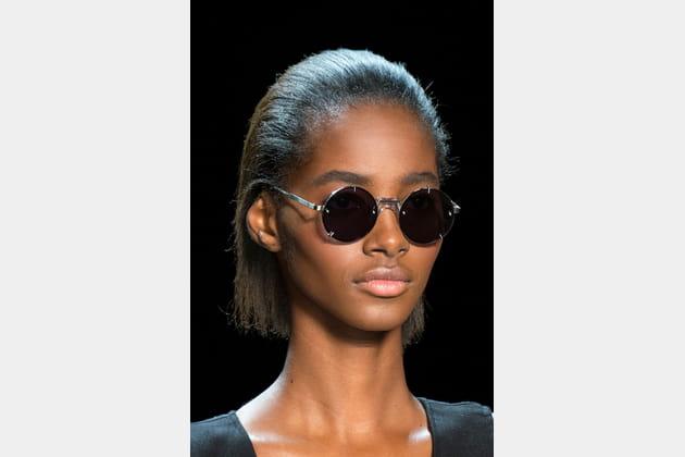 Les lunettes de soleil rondes du défilé Vera Wang