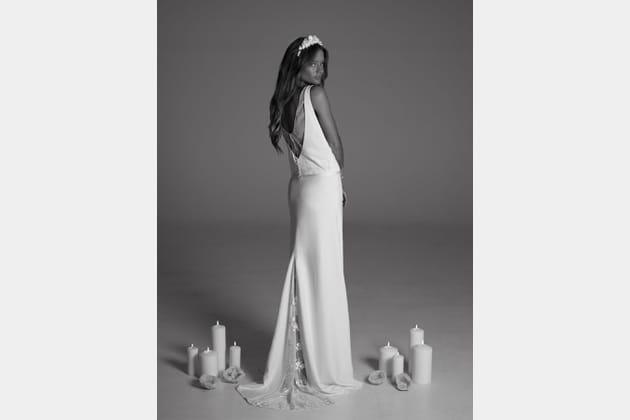 Robe de mariée Jeisa, de dos