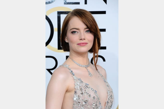 La coiffure bohème d'Emma Stone
